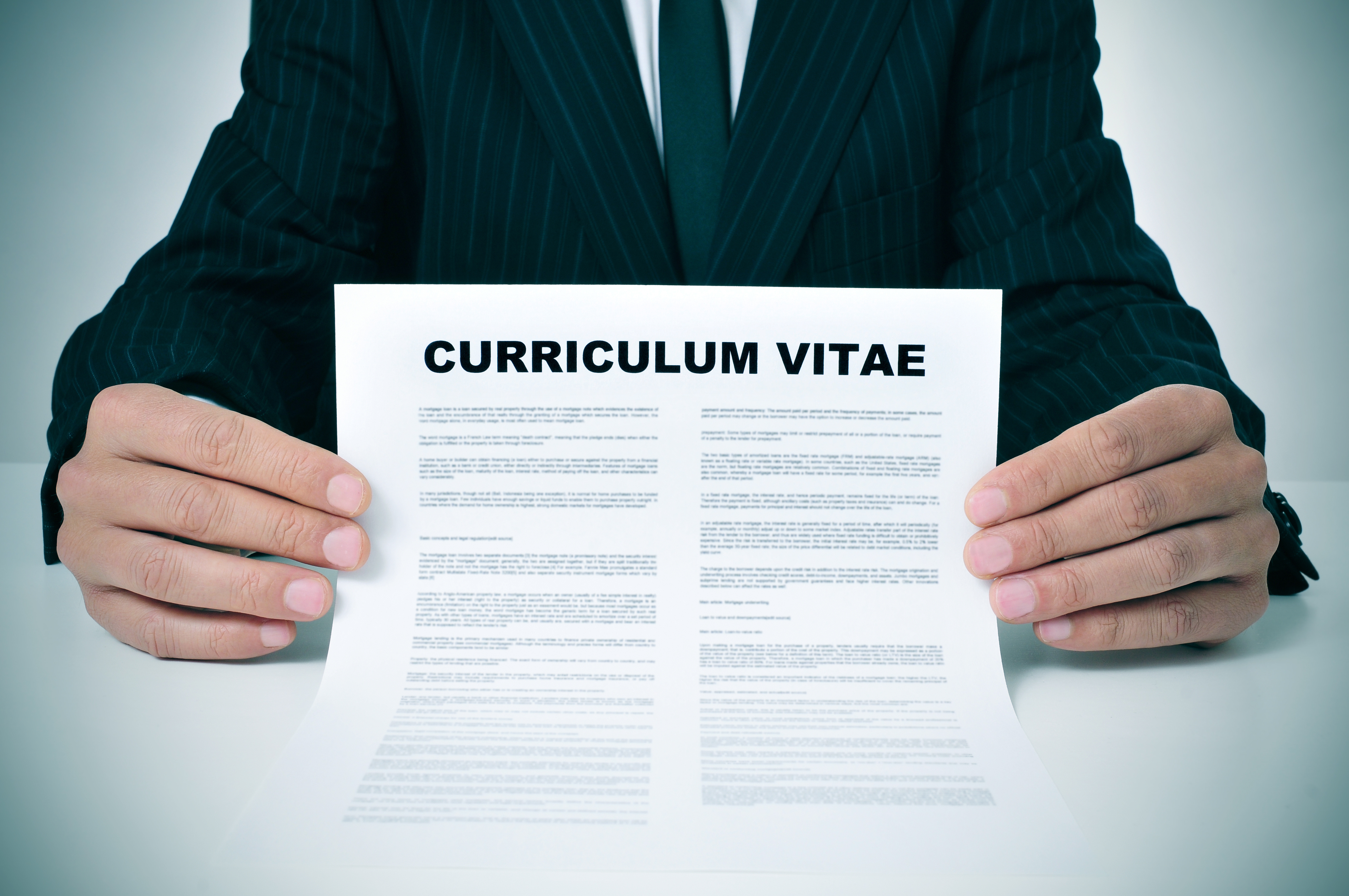Curriculum Vitae And Cover Letters: An Alternative Approach