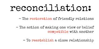 reconiliation