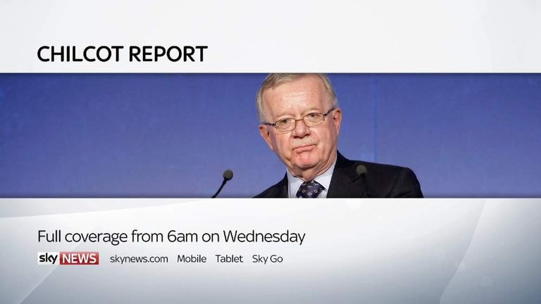 Chilcot report pic